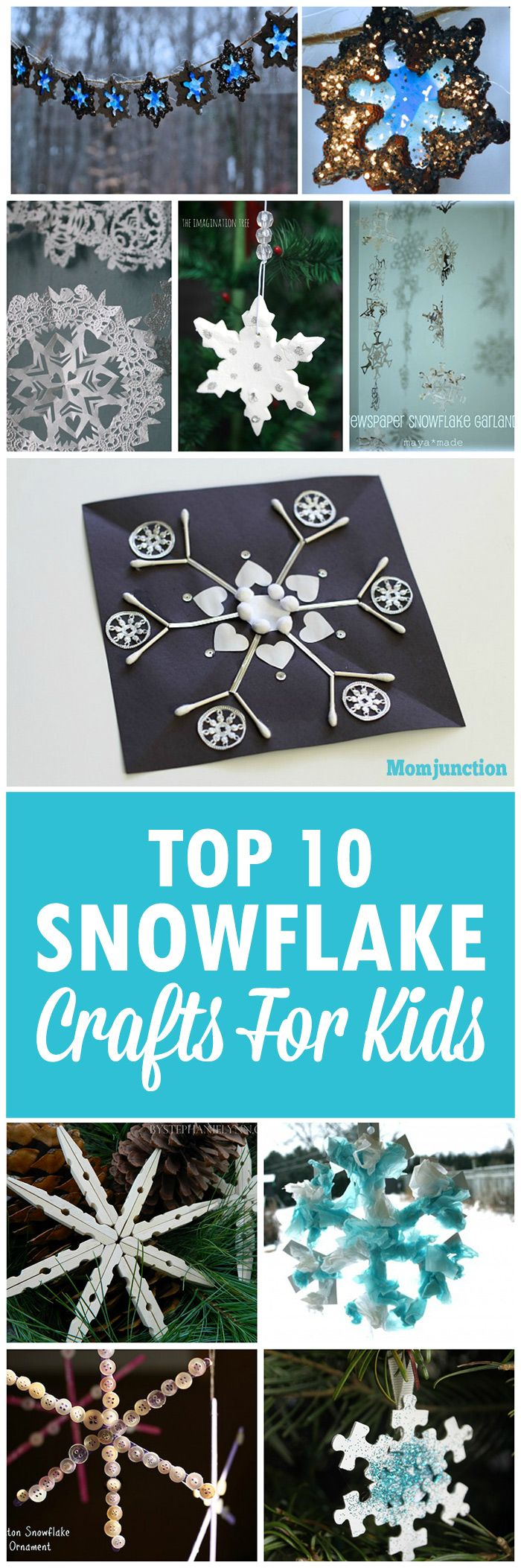 Best 25 Snowflake Craft Ideas On Pinterest 3d Paper