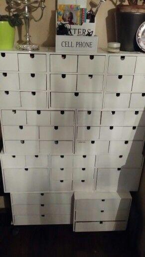 Card Drawers Catalog Diy