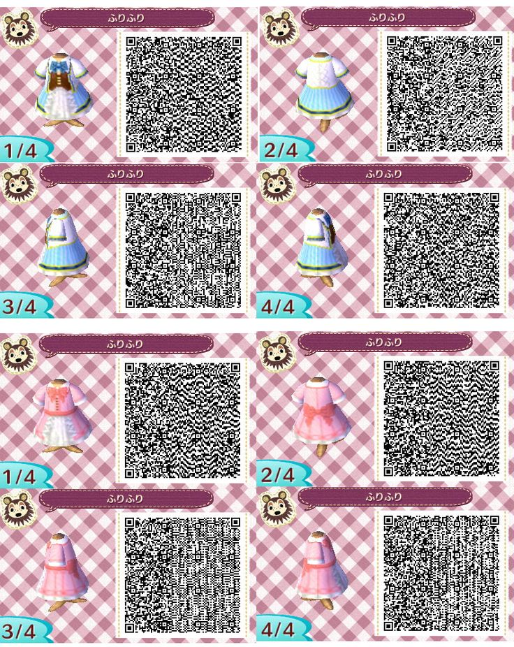 14 226 Best Animal Crossing Qr Codes Images On Pinterest All