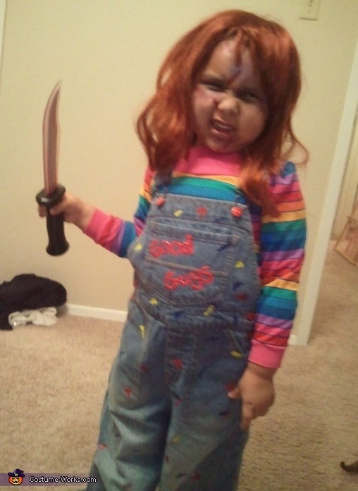 Child's Play Chucky Costume Children play, Homemade and