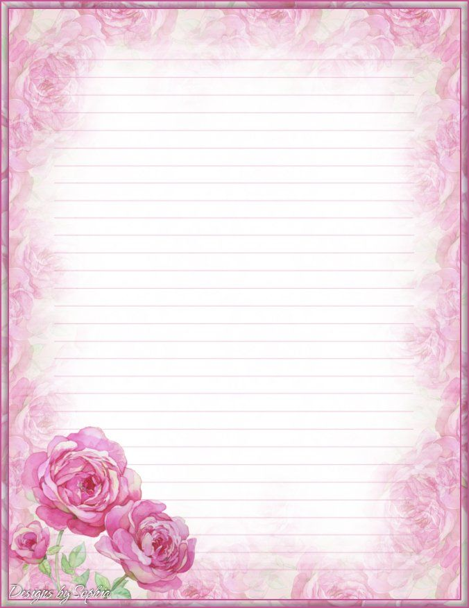 Printable Love Letter Backgrounds