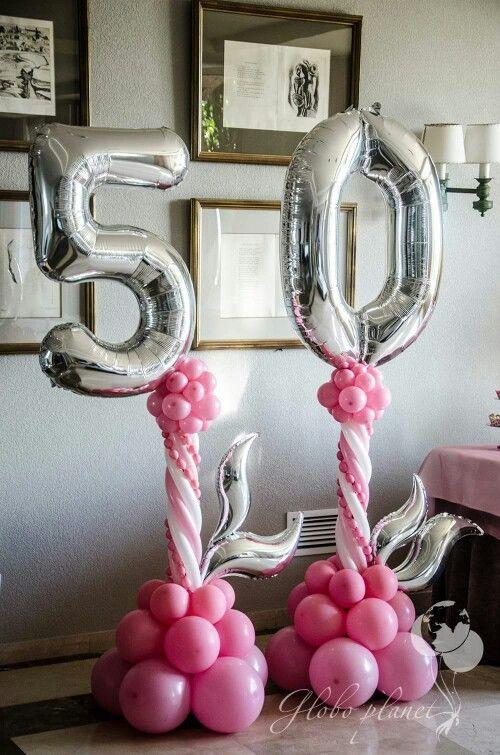 Best 25 50th Birthday Balloons Ideas On Pinterest