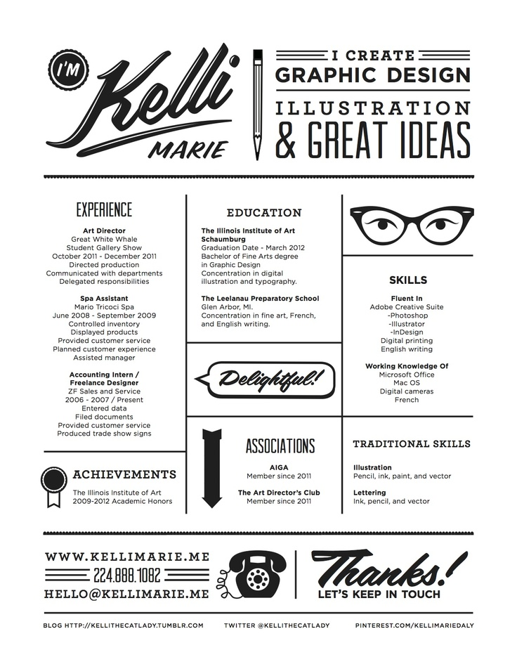 design resume graphic design resume and kelli o hara on pinterest