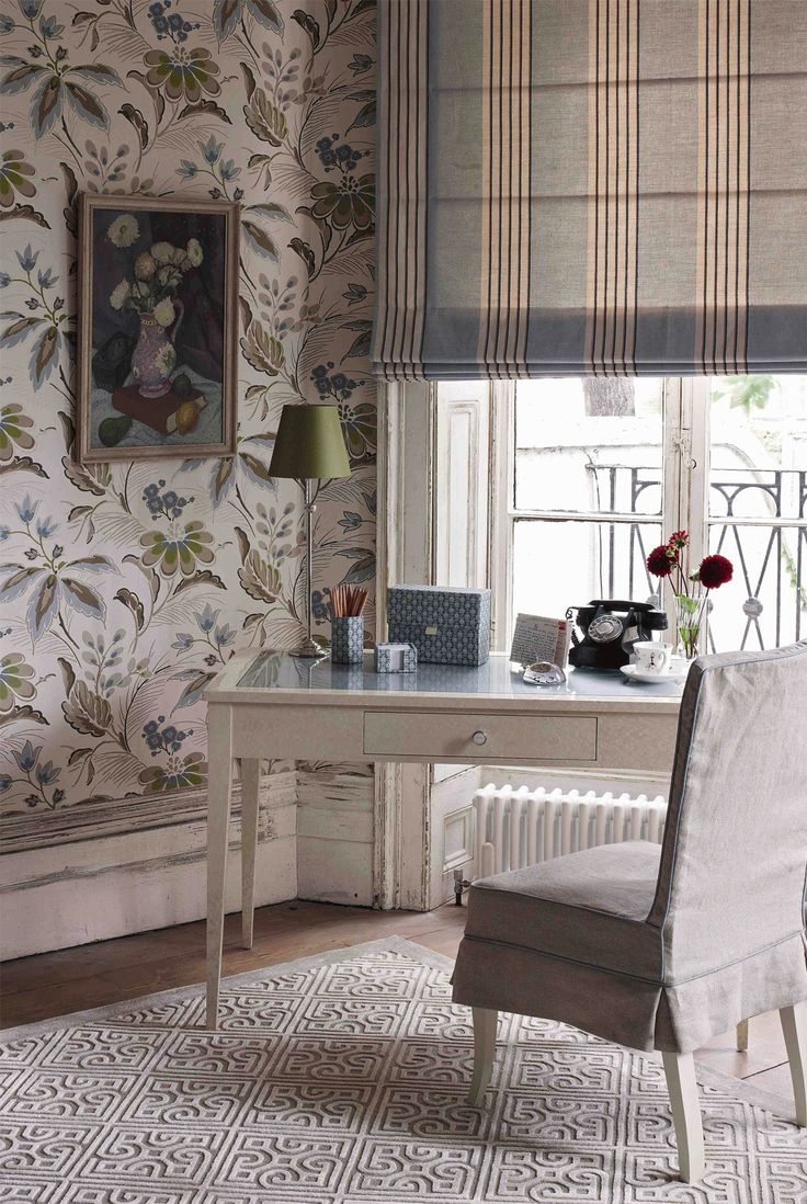 NINA CAMPBELL Montacute Wallpaper From The Montacute Collection Autumn 2011 NinaCampbell