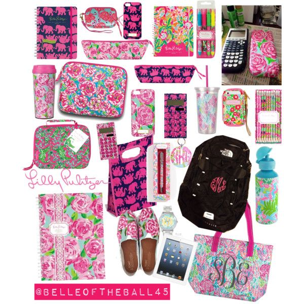 A fashion look from August 2013 featuring Lilly Pulitzer, The North Face backpacks and Lilly Pulitzer clutches. Browse and shop