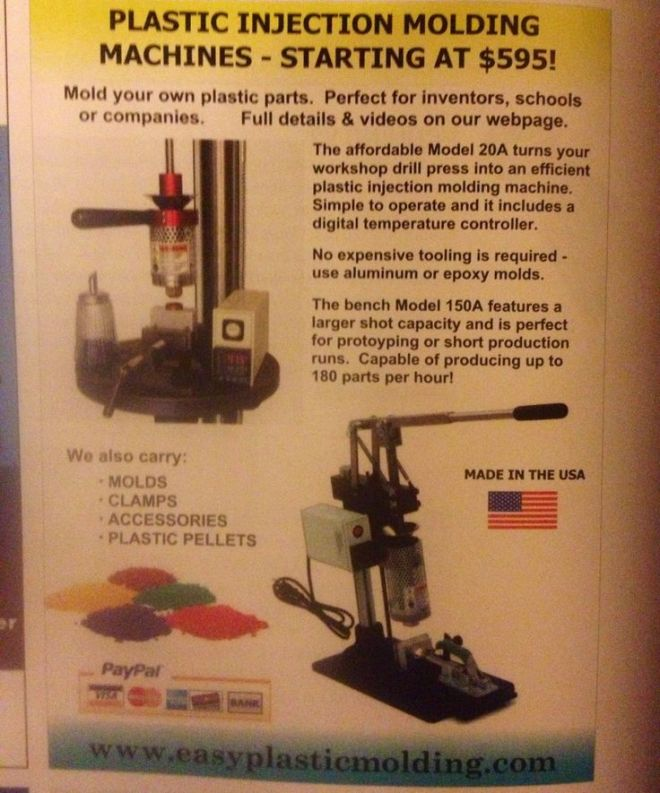Diy injection molding mmm pinterest diy and crafts