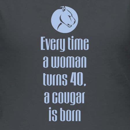 40th Birthday Cougar Customizable T Shirt Template Personalize The Way You Want It In Our