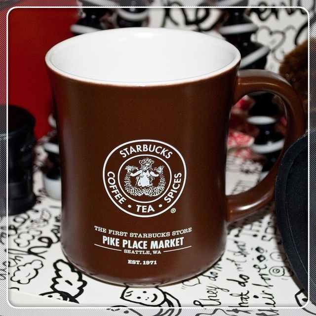 Vintage Starbucks Pike Place Market coffee mug Starbucks
