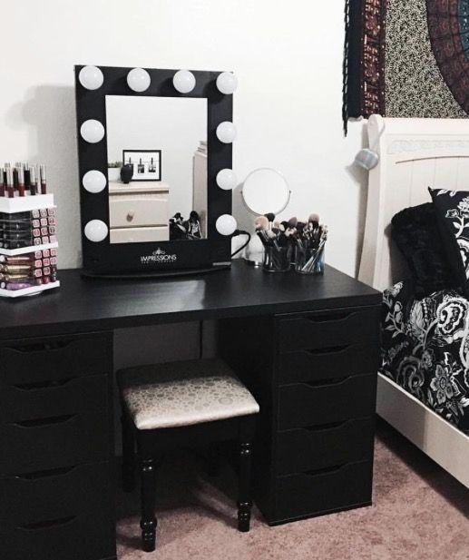 Large Makeup Mirror Lights