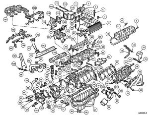 Ford Explorer Engine Diagram | EGR Valve problem? on 1996