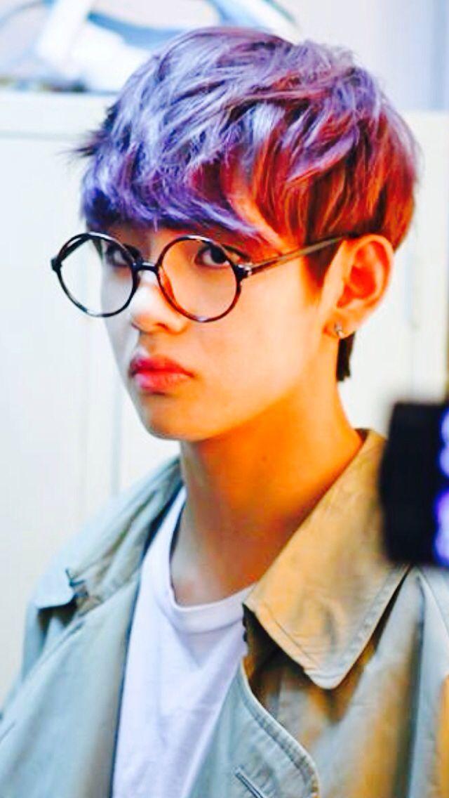 Teahyung BTS V Pinterest Jungen Liebe Und Brillen