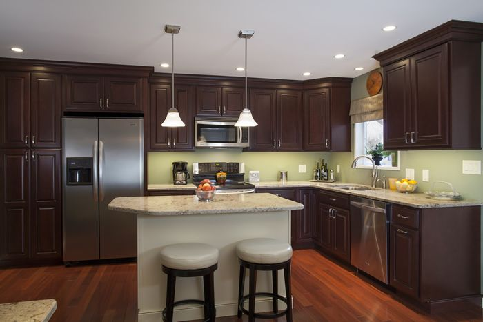 Cabinets Bordeaux Maple Standard Overlay Using Square