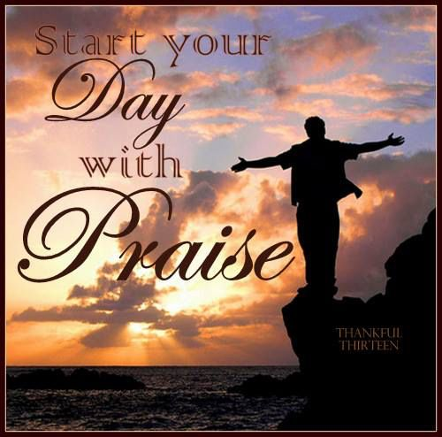 Image result for starting your day with the lord