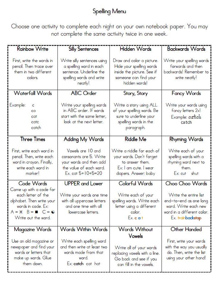 Word work activities. Creative ways to practice sight