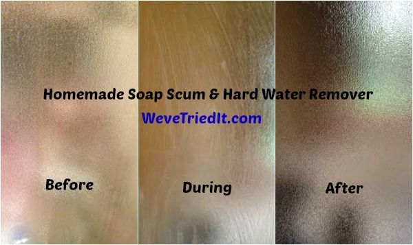 How To Remove Soap Scum And Hard Water Stains Hard Water
