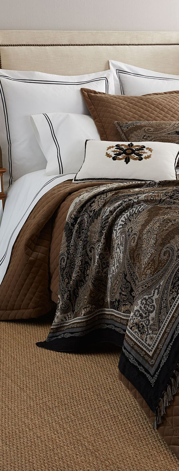 Luxury Bedding #bedroom
