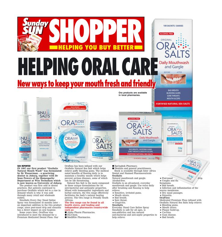 promoting oral health care in the press Fresh Mouth