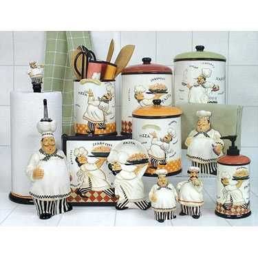 Kitchen Decorating Themes Decorations Fat Chef