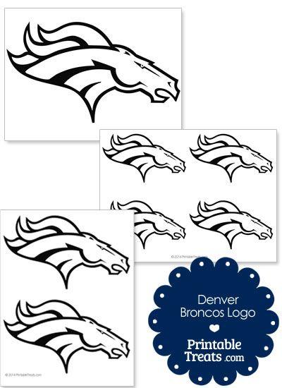 Printable Denver Broncos Logo Template From