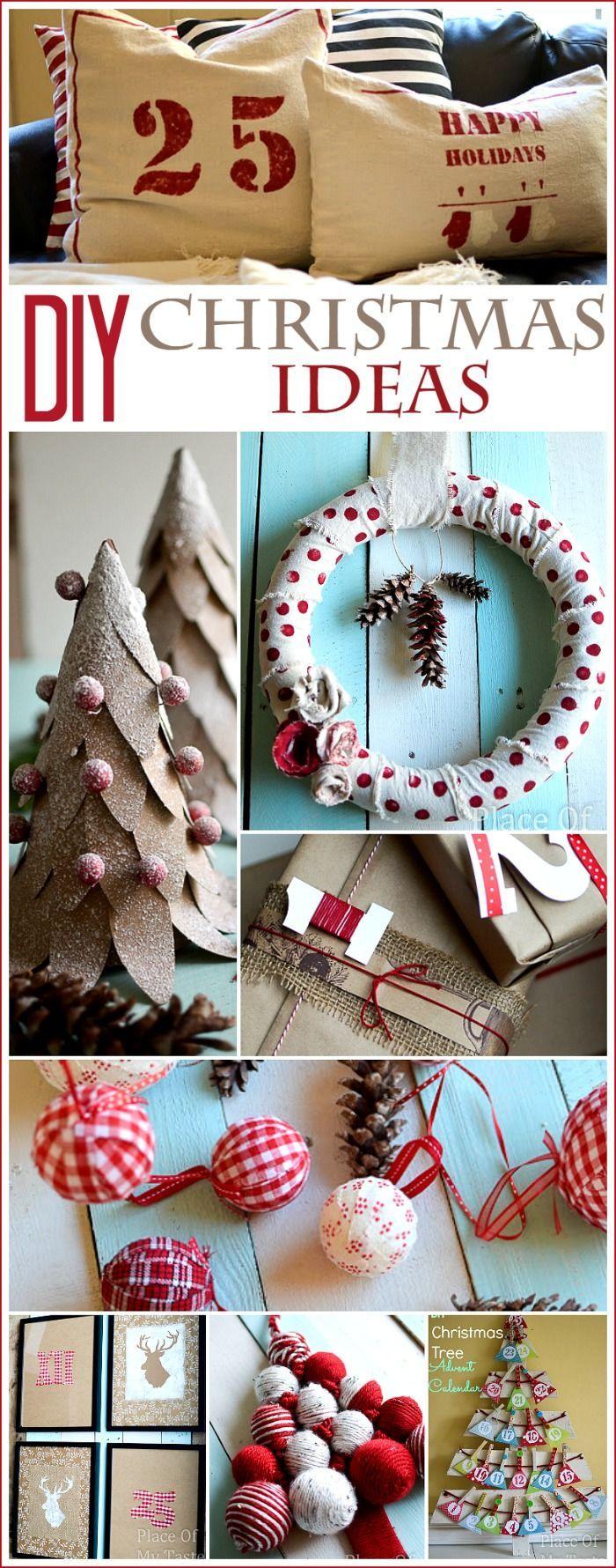 DIY CHRISTMAS craft IDEAS Scrap fabric, Pillow covers