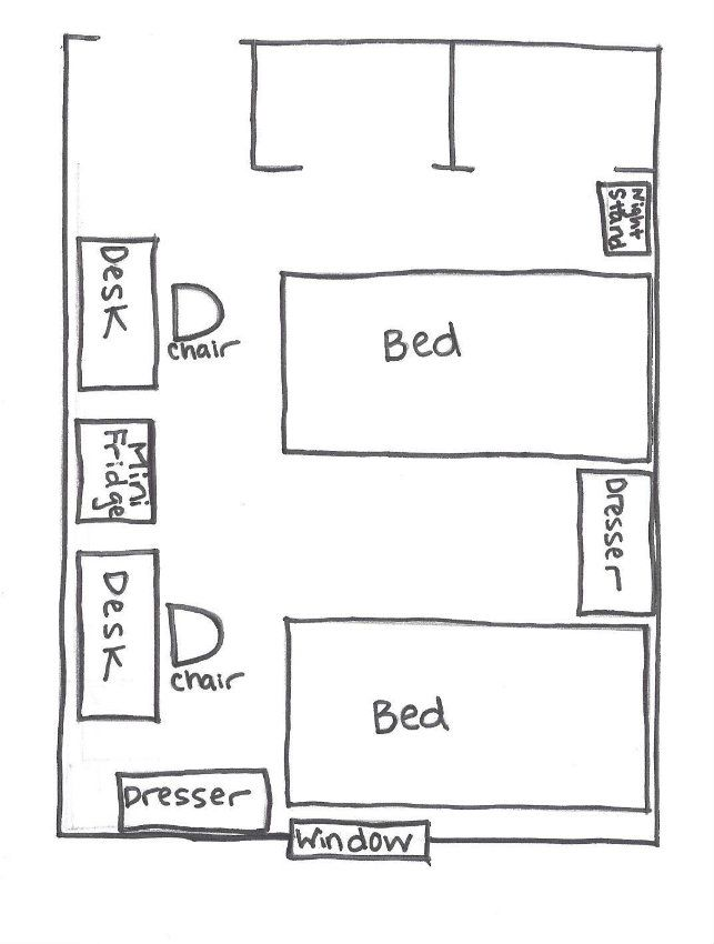 15 Best Ideas About Dorm Room Layouts On Pinterest Dorm
