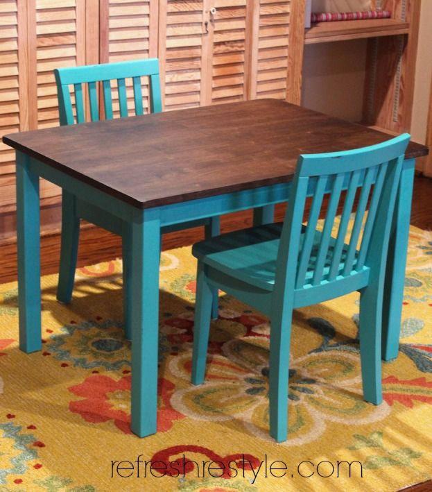 Kids Table Chairs Kid Dining Kitchen