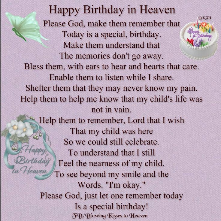 Happy Birthday in Heaven Missing you Pinterest Happy
