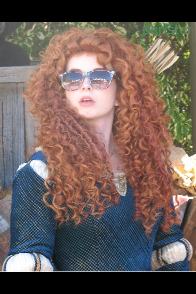 The girl who plays the Disney Parks Merida is my spirit
