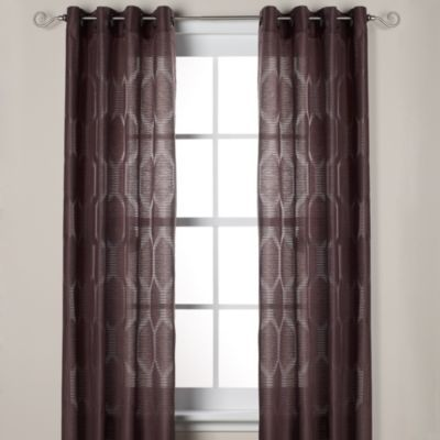 Buy J Queen New York Hamilton Grommet Window Curtain Panels From Bed Bath Amp Beyond In Mink
