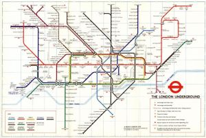 The famed London Underground diagram map | Human Factors
