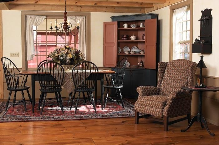 17 Best Images About Primitive And Colonial Dining Rooms