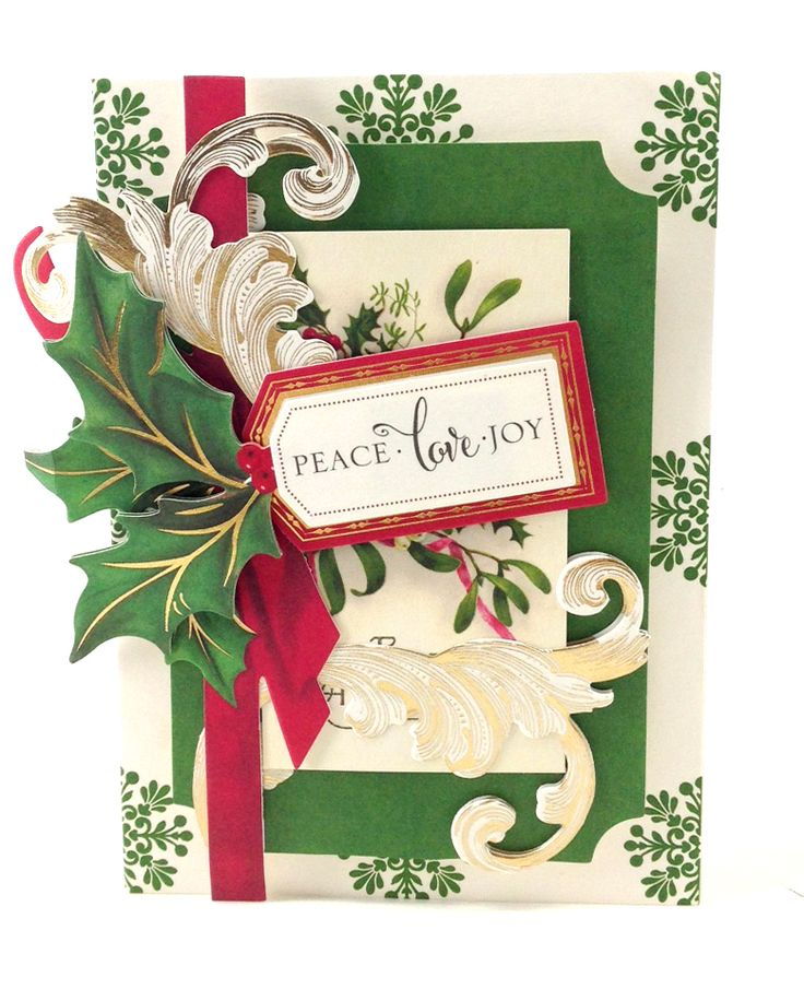 Anna Griffin Holiday Traditions Card Making Kit Holiday