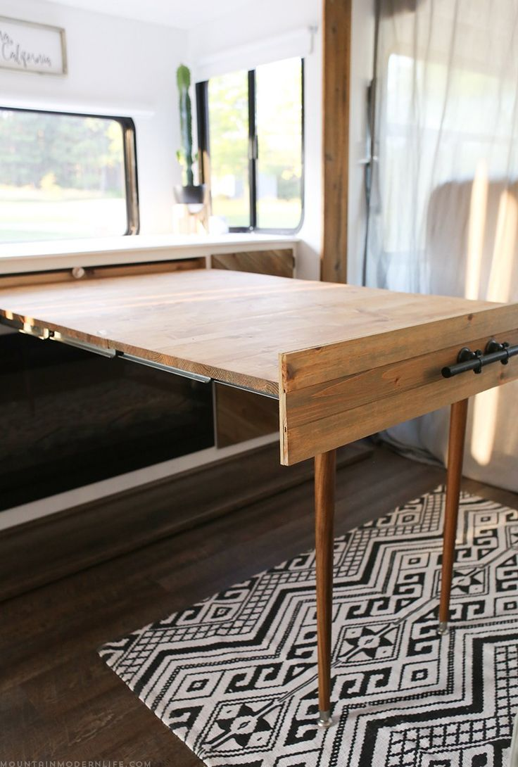 convertible table for RV