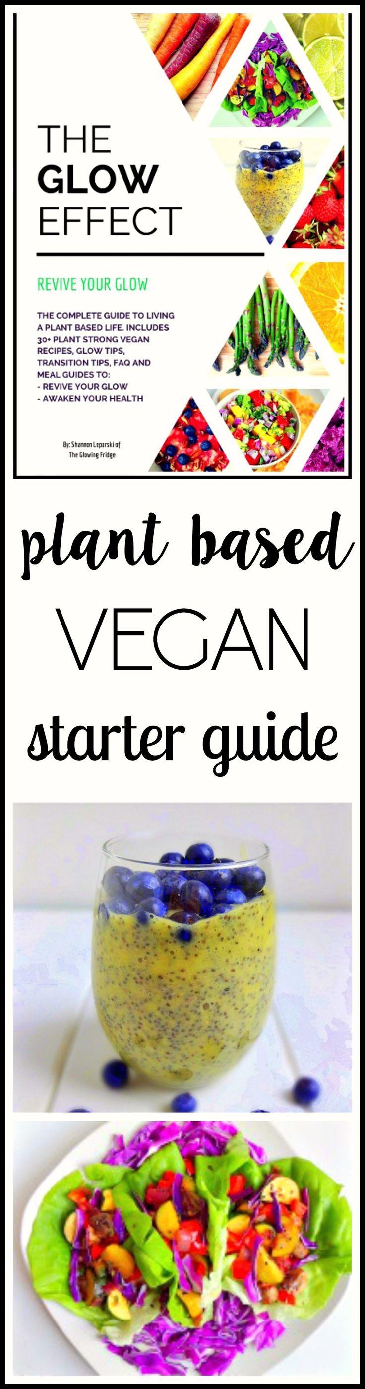 Vegan Starter Guide Happy, Detox program and For glowing