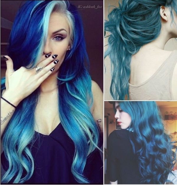 20 Teal Blue Hair Color Ideas For Black Amp Bown Hair