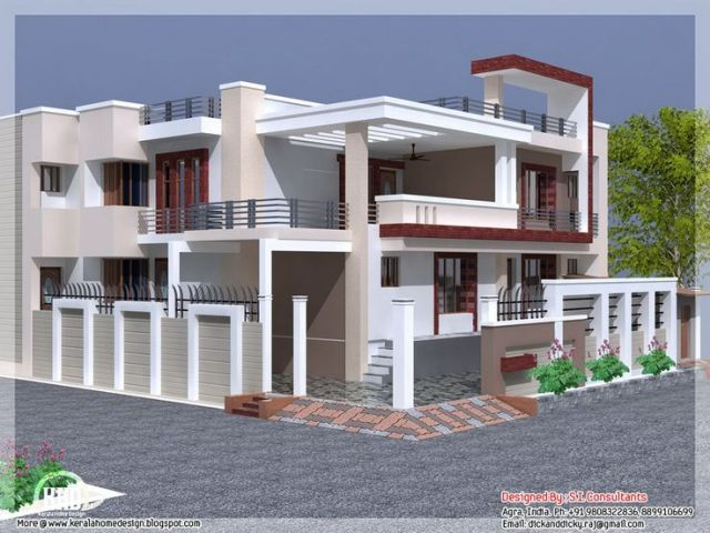 128 Free Home Plans India   architect design for 1000sq ft house in         17 images about exteriors on pinterest indian house for Free home plans  india