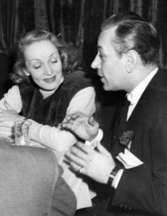 Image result for george raft and marlene dietrich
