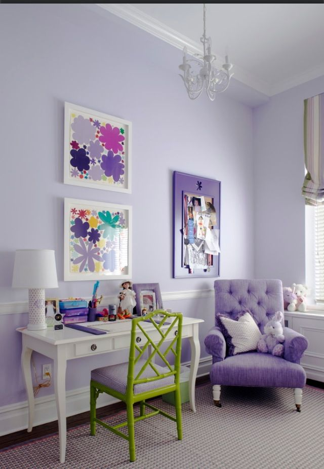 A Pale Lavender May Be Another Option It Looks Nice With White And Green Accents