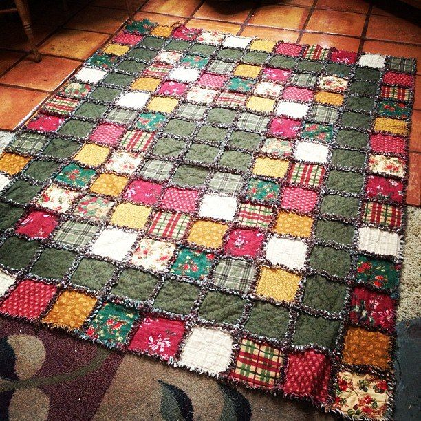 Basic Log Cabin Quilt Square Directions