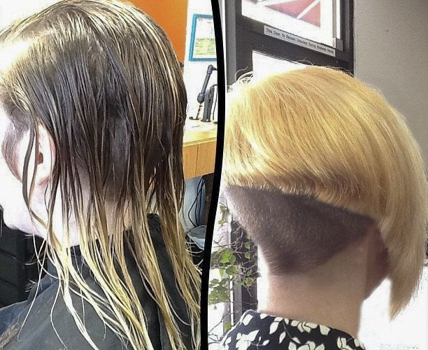 127 Best Images About Hair Before And After Haircuts On