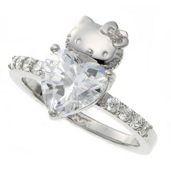 Hello Kitty ring                                                    Yes please!!!!!