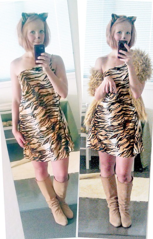 DIY Tiger Costume Doityourself Pinterest Costumes