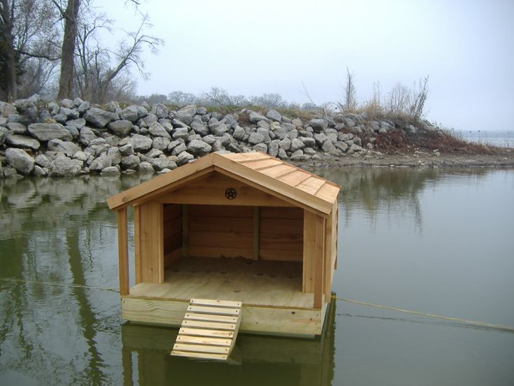 Floating Duck Shelters Custom Floating Duck Houses