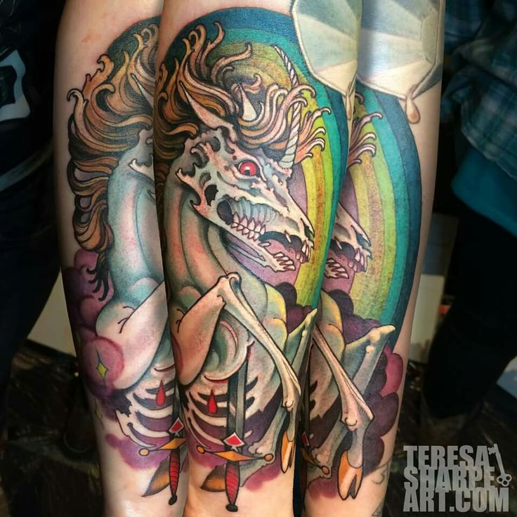 Horse Tattoo By Teresa Sharpe Tattoo Artist Theresa