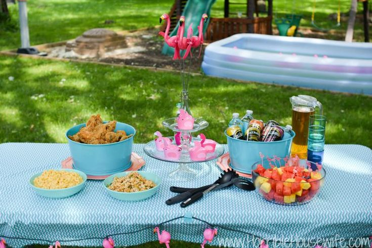 1000 Ideas About Pink Flamingo Party On Pinterest