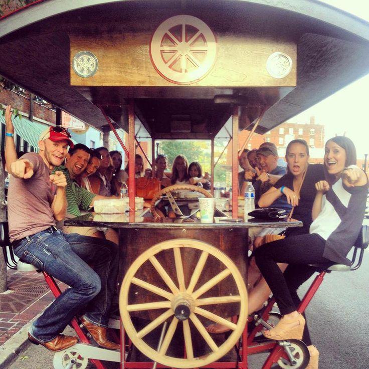 Cruise From Cincinnati Bar To Bar On A Pedal Wagon Pub