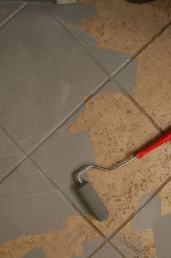 painting exterior wall tiles