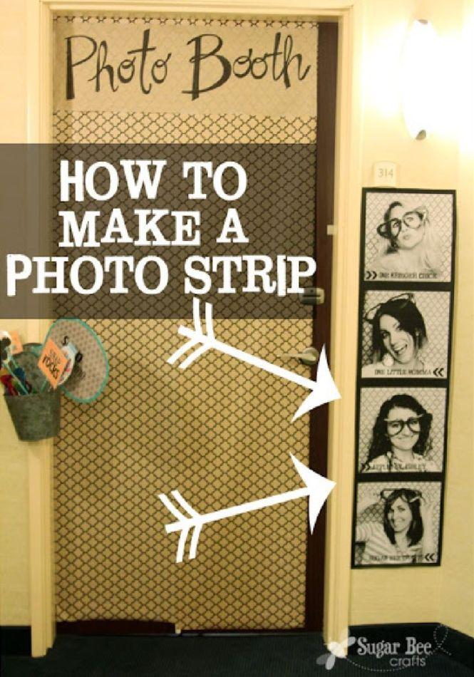 Giant Photo Strip For Tutorial