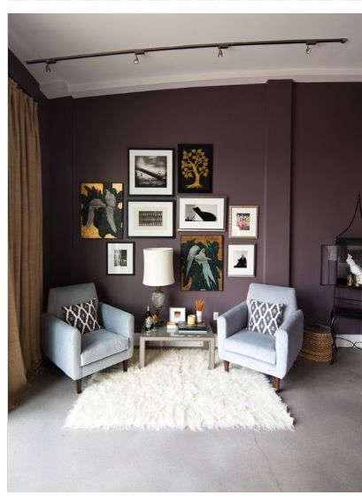 Wall Color Not Sure Maybe Benjamin Moore Blackberry Wine