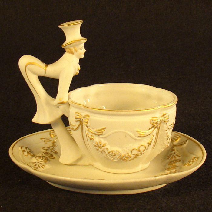 Japan Saucer Miniature And Teacup Made Trademarks